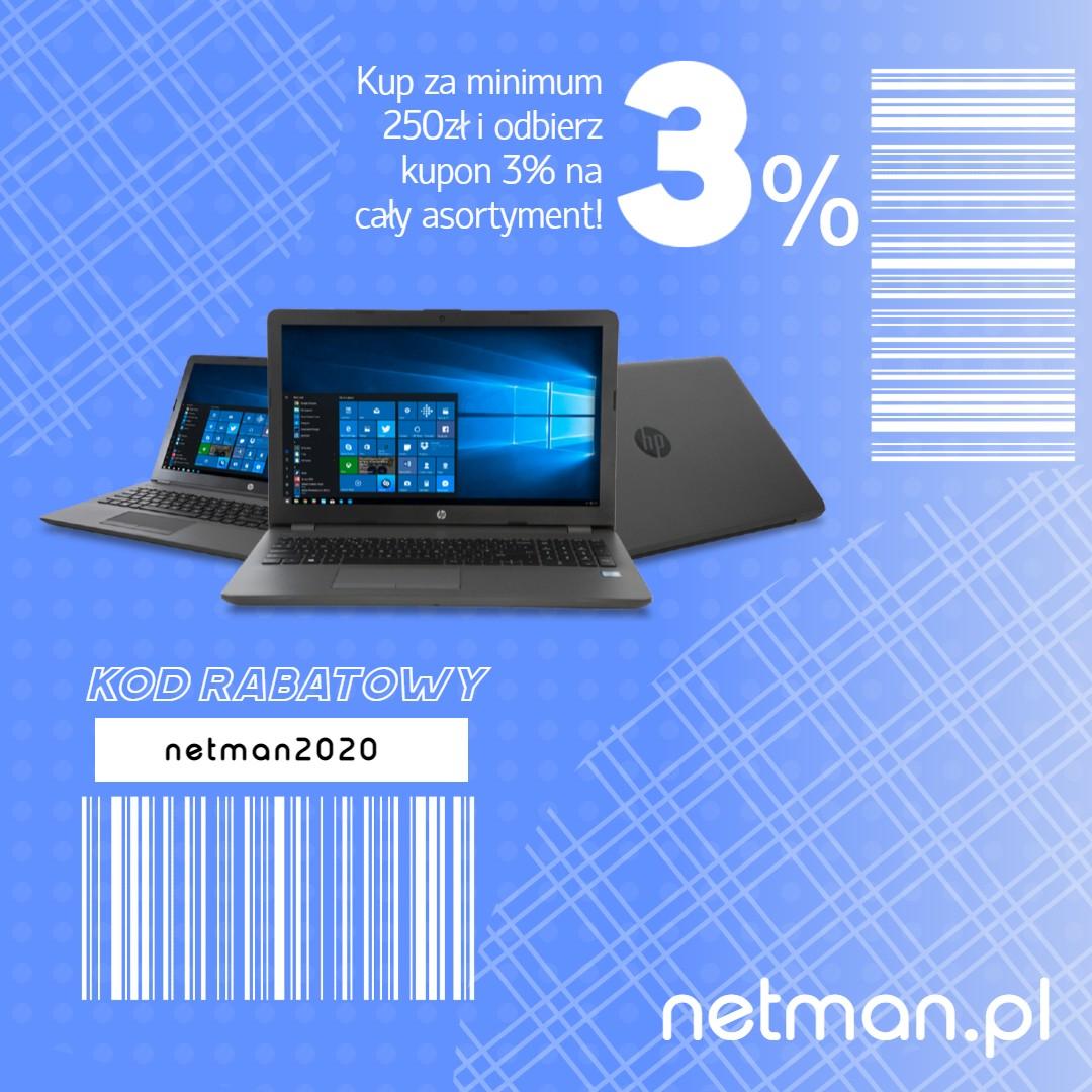 kupon rabatowy netman2020